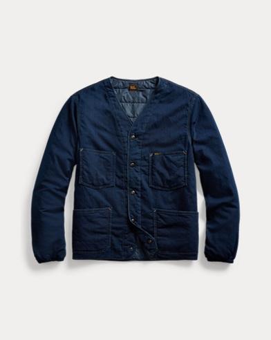 Indigo Twill Liner Jacket