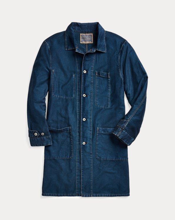 Cotton-Linen Engineer Coat