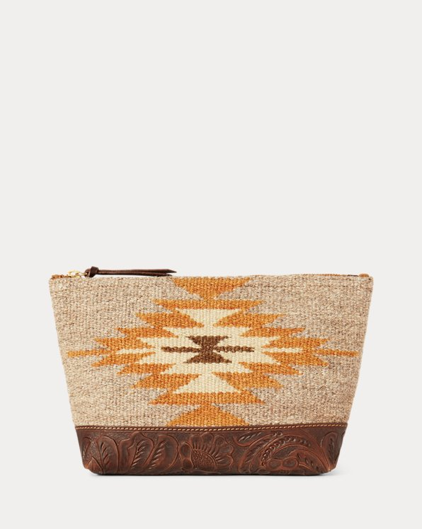Southwestern Handwoven Pouch