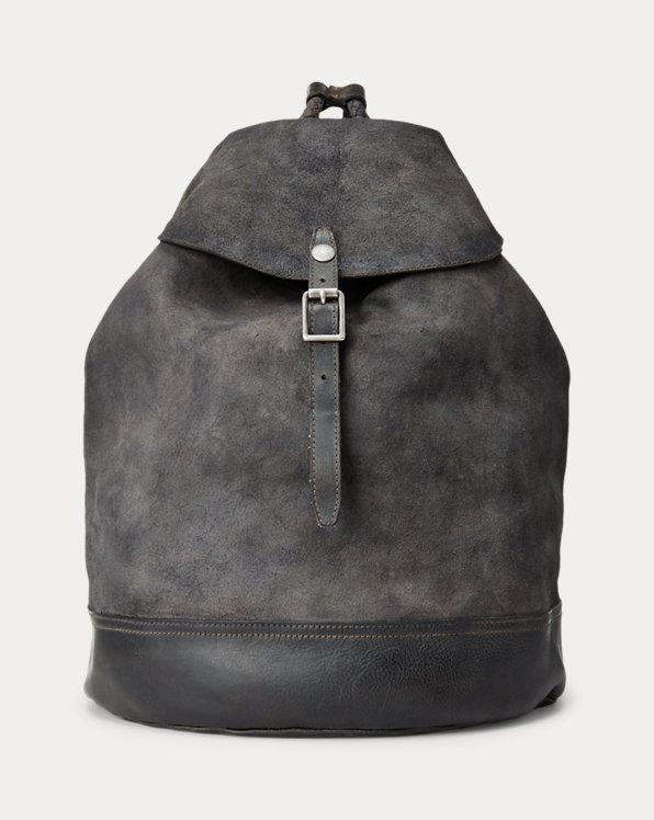 Tumbled Leather Rucksack