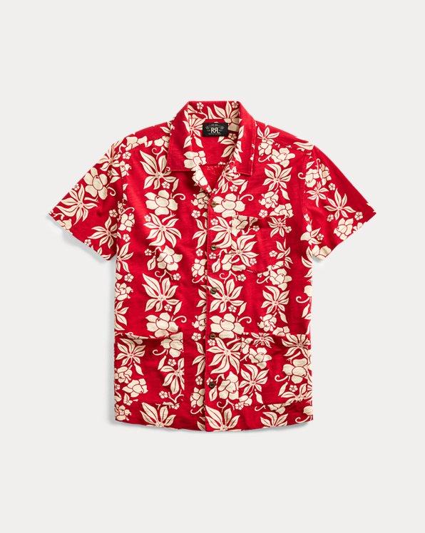 Jersey Hawaiian Camp Shirt
