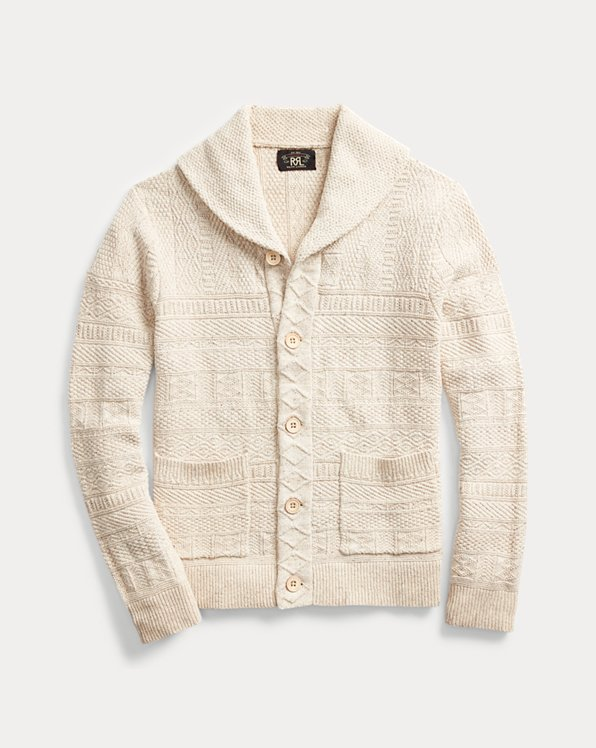 Cotton-Silk Cardigan
