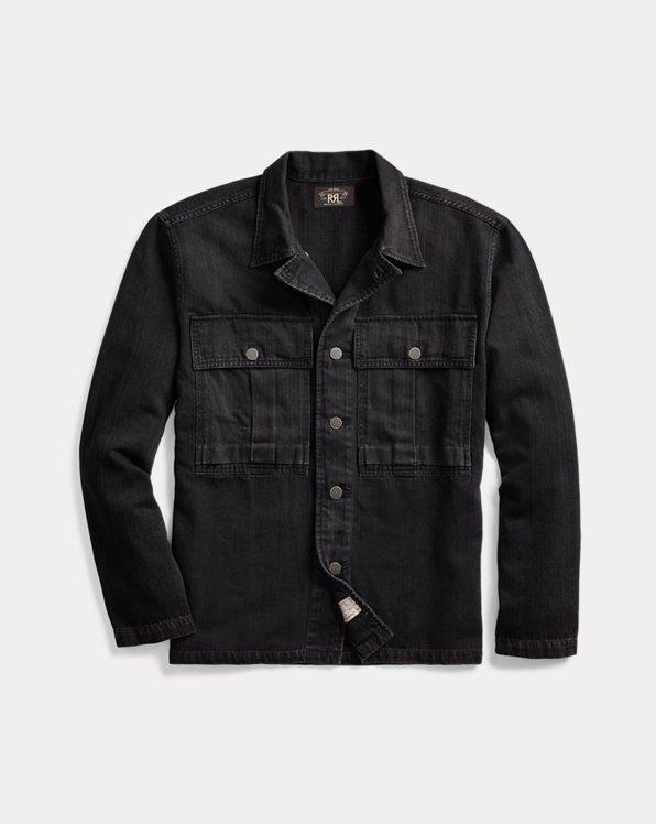 Herringbone Twill Overshirt
