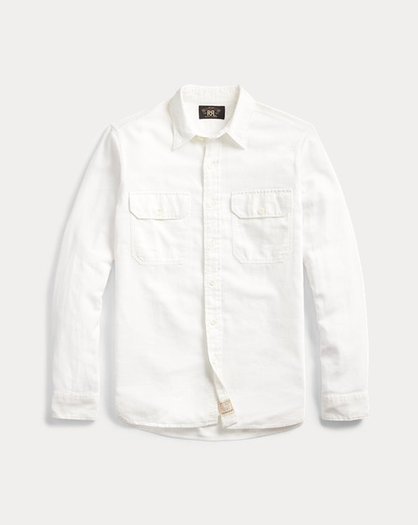 Cotton-Linen Dobby Workshirt