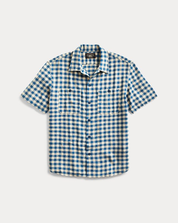 Indigo Checked Shirt