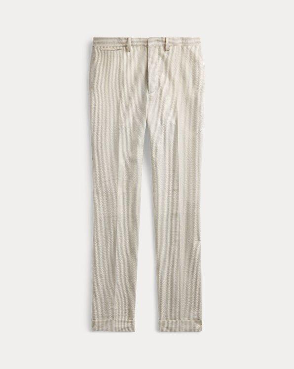Slim Stripe Seersucker Trouser