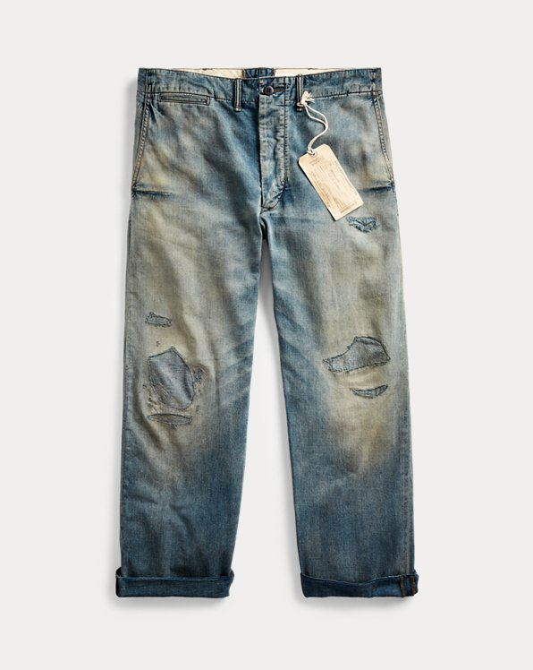 Repaired Field Jean