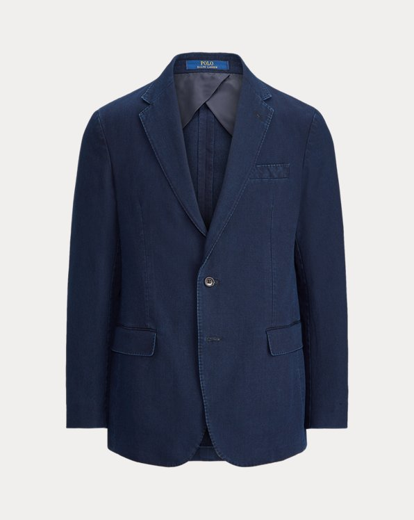 Indigo Pique Sport Coat