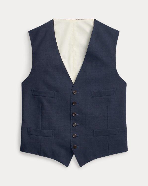Pin Dot Wool Waistcoat