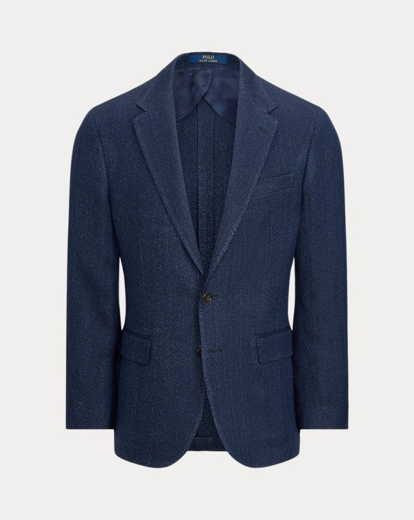 Soft Herringbone Sport Coat