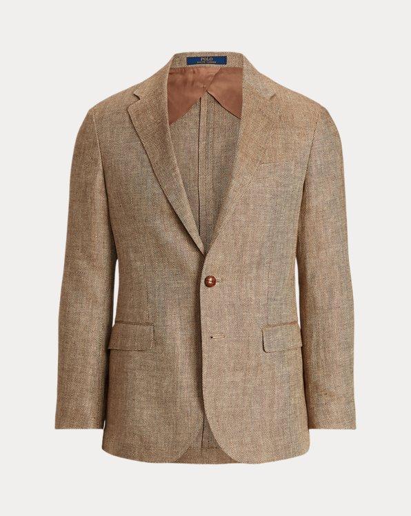 Linen Herringbone Sport Coat
