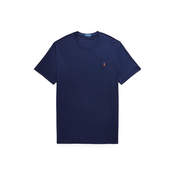 Polo Ralph Lauren Men's Soft Touch French Terry Cotton T-shirt In French Navy