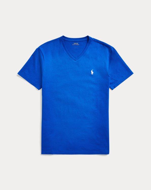 T-shirt ajusté à col en V