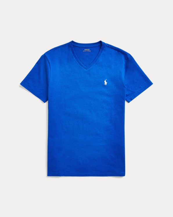 Custom Slim Fit V-Neck T-Shirt