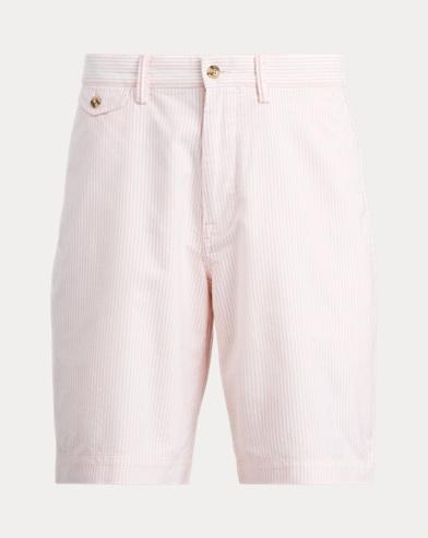 Classic Fit Striped Short
