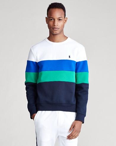 Sweatshirt mit Color-Block-Optik
