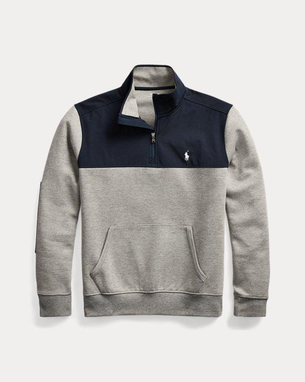 Hybrid Half-Zip Pullover