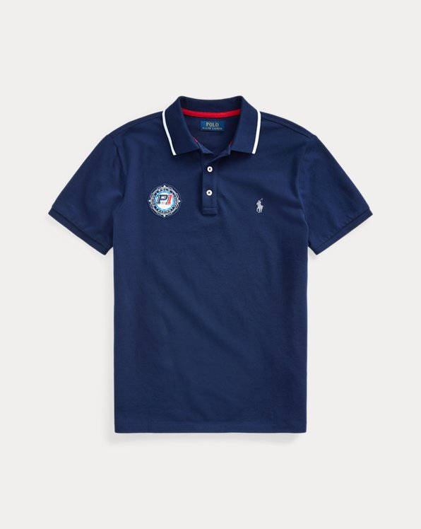Racing-Polo im Custom-Slim-Fit