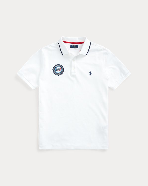 Custom Slim Fit Racing Polo