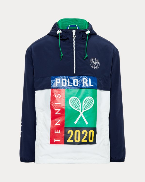 Wimbledon Packable Windbreaker