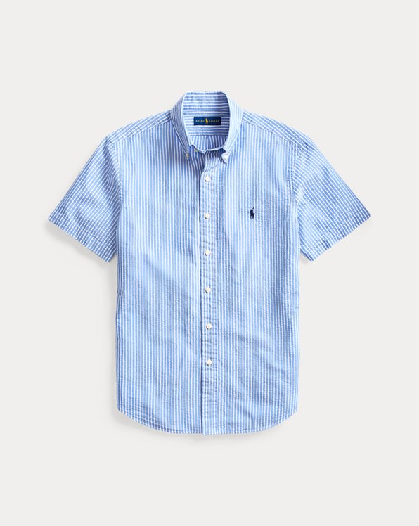 Classic Fit Seersucker Shirt