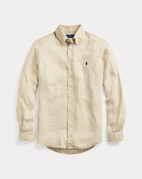 Camisa de lino Slim Fit