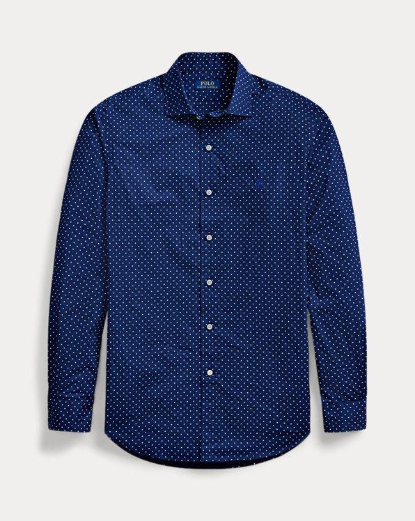 Camisa de popelina Classic Fit con lunares