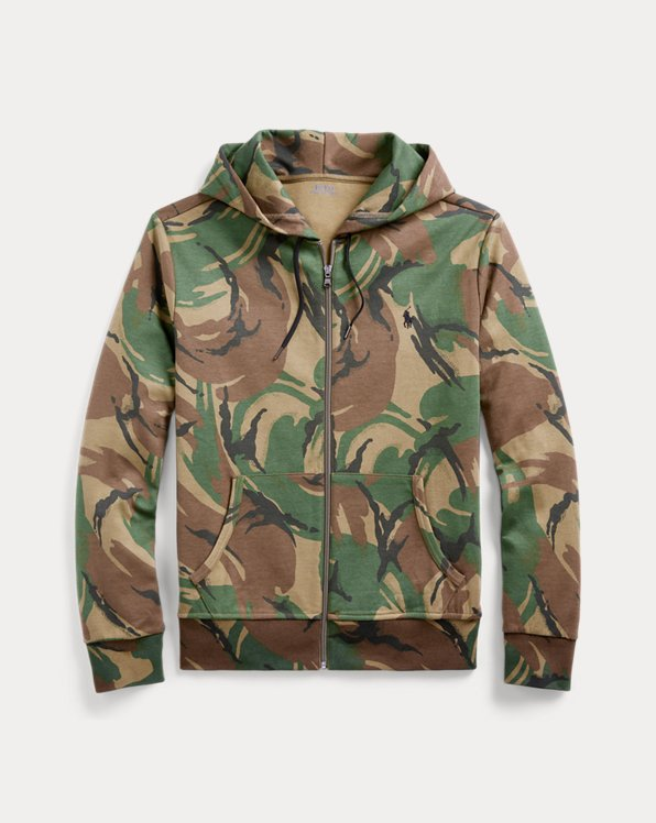 Camo Double-Knit Hoodie