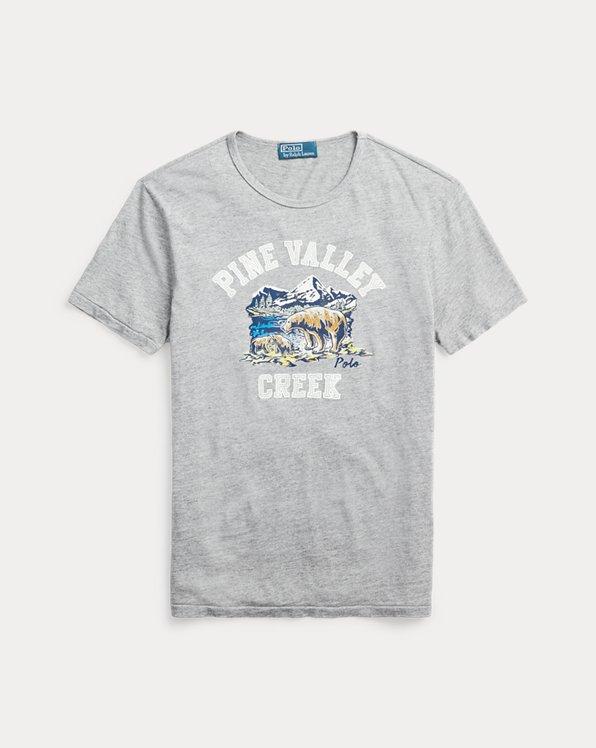 T-shirt graphique coupe classique