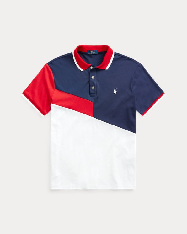 Polo in interlock Classic-Fit