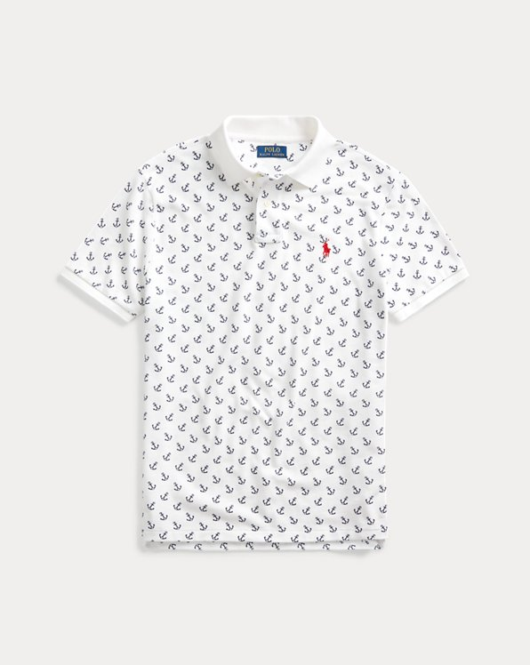 Custom Slim Fit Anchor Polo