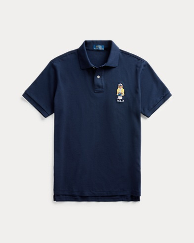 Classic-Fit Polohemd mit CP-93 Bear