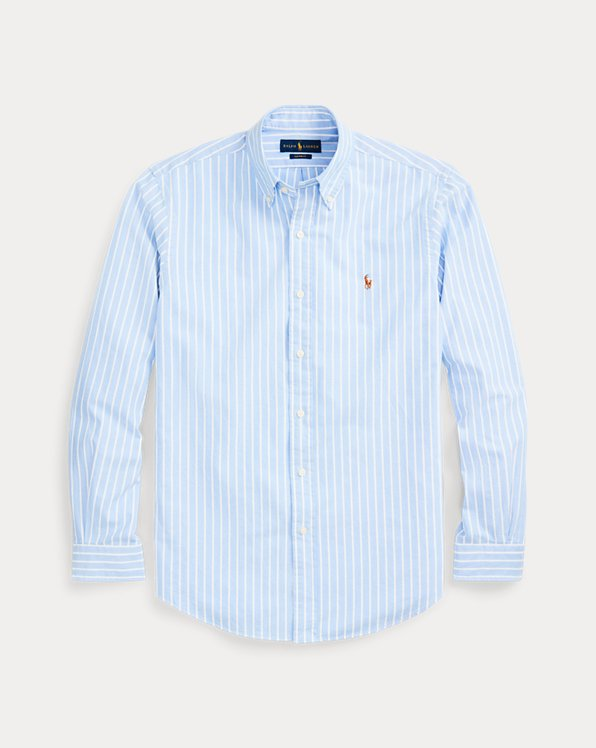 Blue with Yellow Polo Player Soft Finewale Corduroy NEW Polo Ralph Lauren Shirt