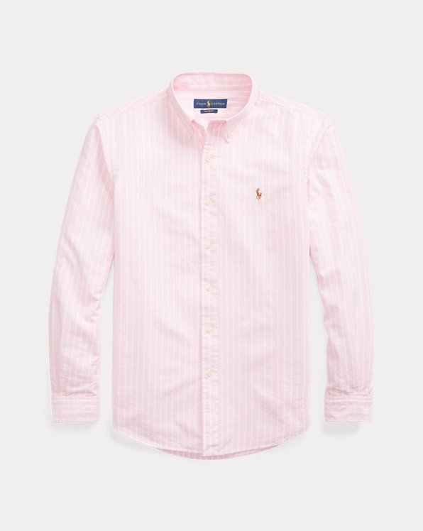 Camicia Oxford a righe Slim-Fit