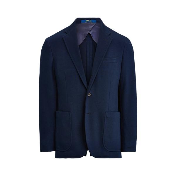 Ralph Lauren Polo Soft Knit Suit Jacket In Blue
