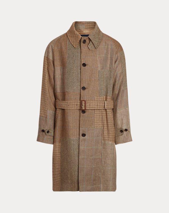 Patchwork Tweed Topcoat