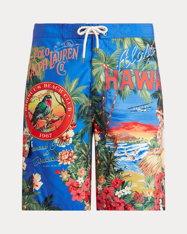 21.6 cm-Inch Kailua Swim Trunks