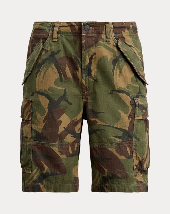 Classic Fit Camouflage-Shorts