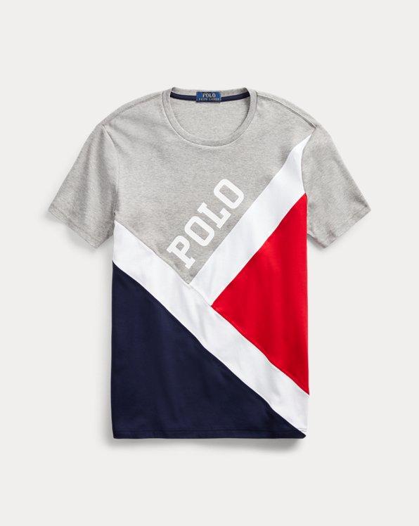 T-shirt rapiécé coupe classique
