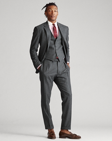 Polo Flannel 3-Piece Suit