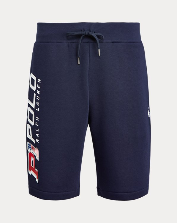 Graphic Fleece Short