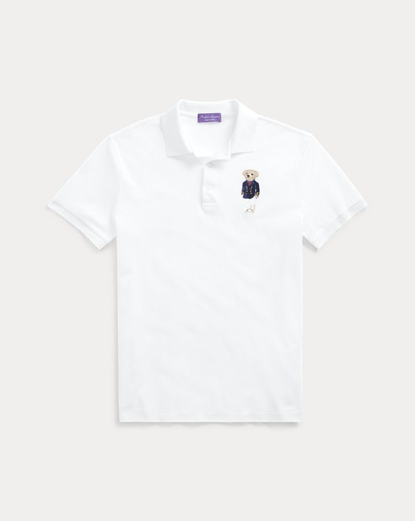 Custom-Slim-Fit Polo mit Bear