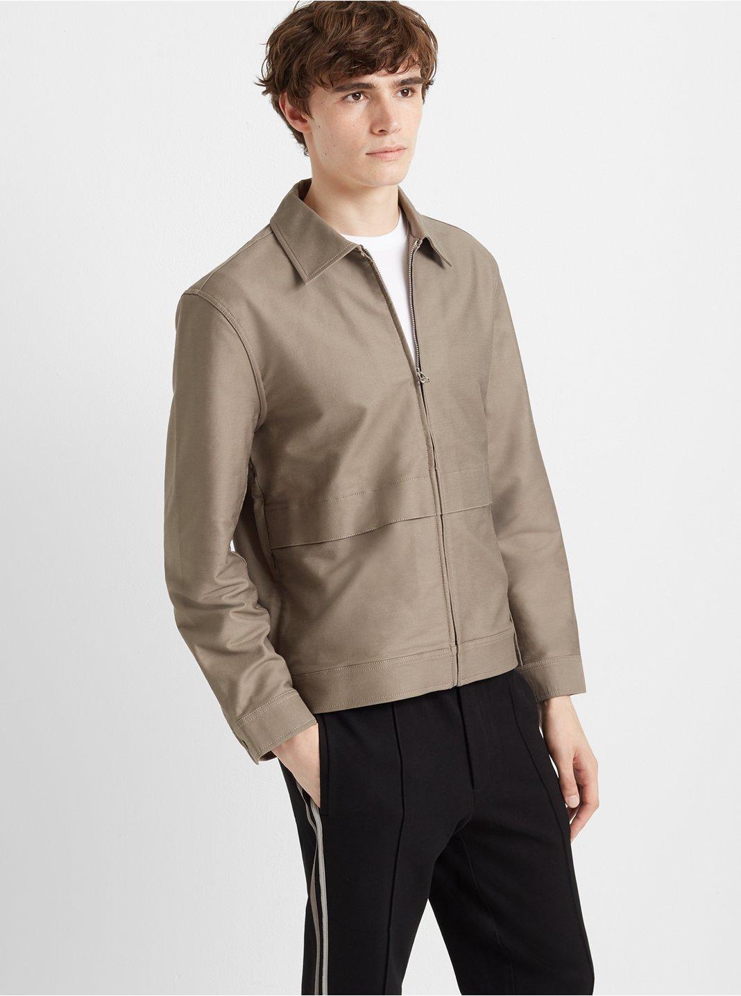 Flap Zip Jacket