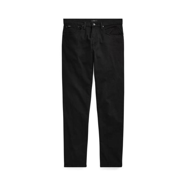 폴로 랄프로렌 Polo Ralph Lauren Hampton Relaxed Straight Jean,Black Stretch