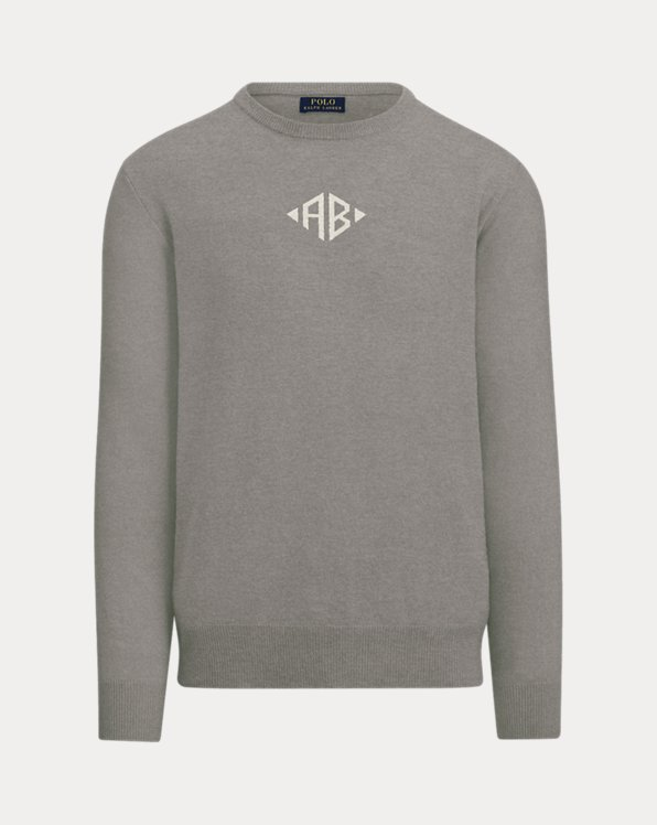 Custom Cashmere Crewneck Sweater