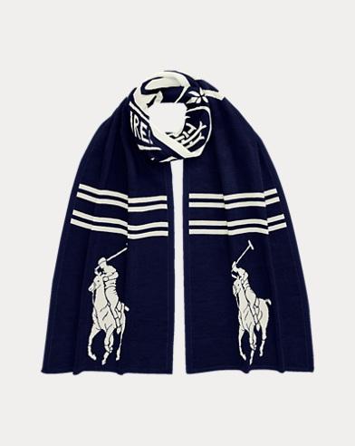 Custom Wool Knit Scarf