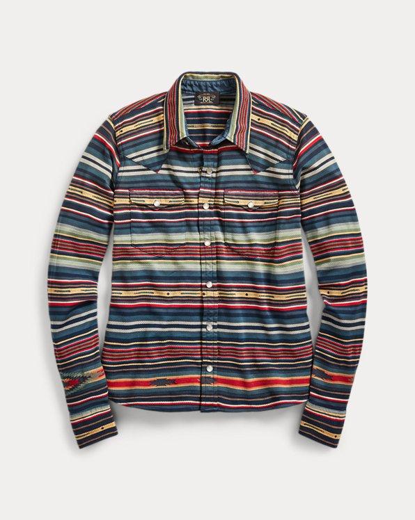 Southwestern Jacquard Shirt