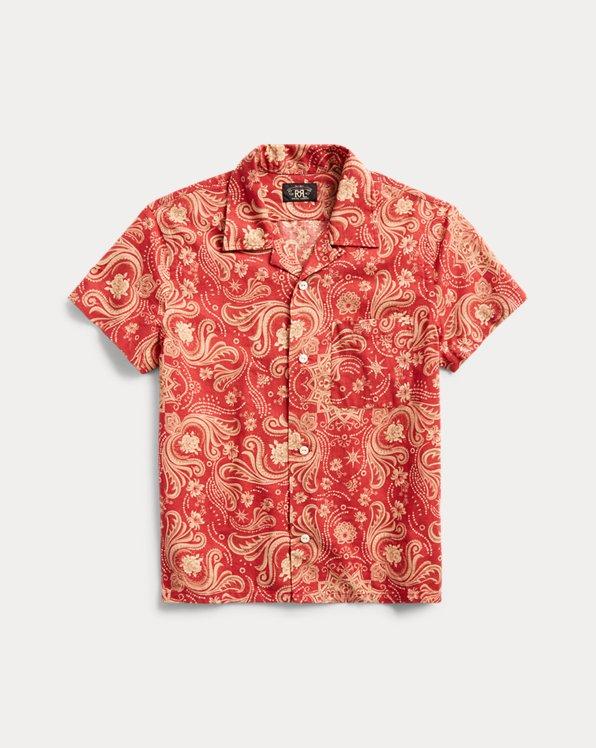 Cotton-Linen Camp Shirt