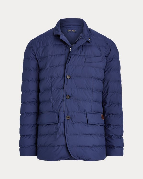 Quilted Water-Repellent Jacket