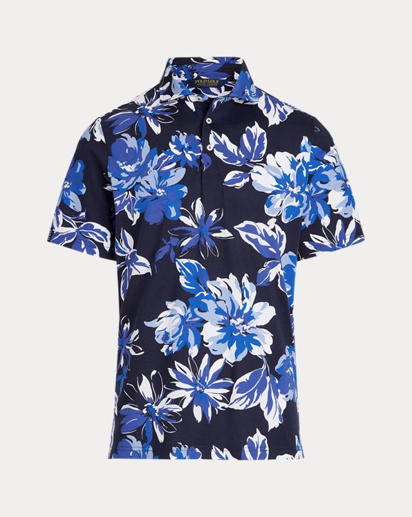 Classic Fit Floral Jersey Polo